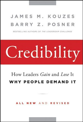 Best Empowerment books - Credibility: How Leaders Gain and Lose It, Why People Demand It by James M. Kouzes
