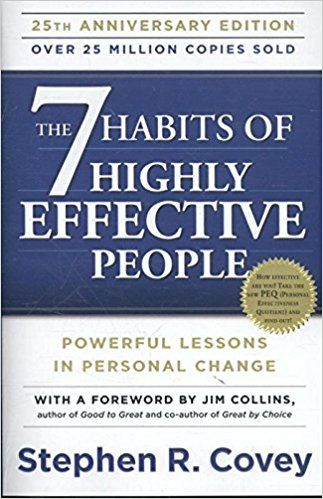 Best books for future thinkers - The 7 Habits of Highly Effective People: Powerful Lessons in Personal Change by Stephen R. Covey