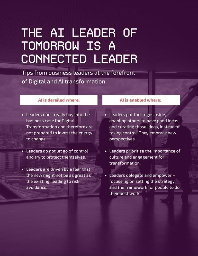 The ai leader of tomorrow