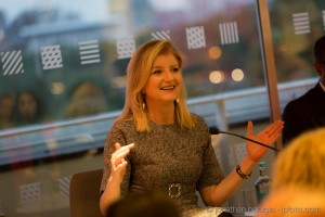 Arianna Huffington speaks at the Mindfulness at Work symposium, Southbank