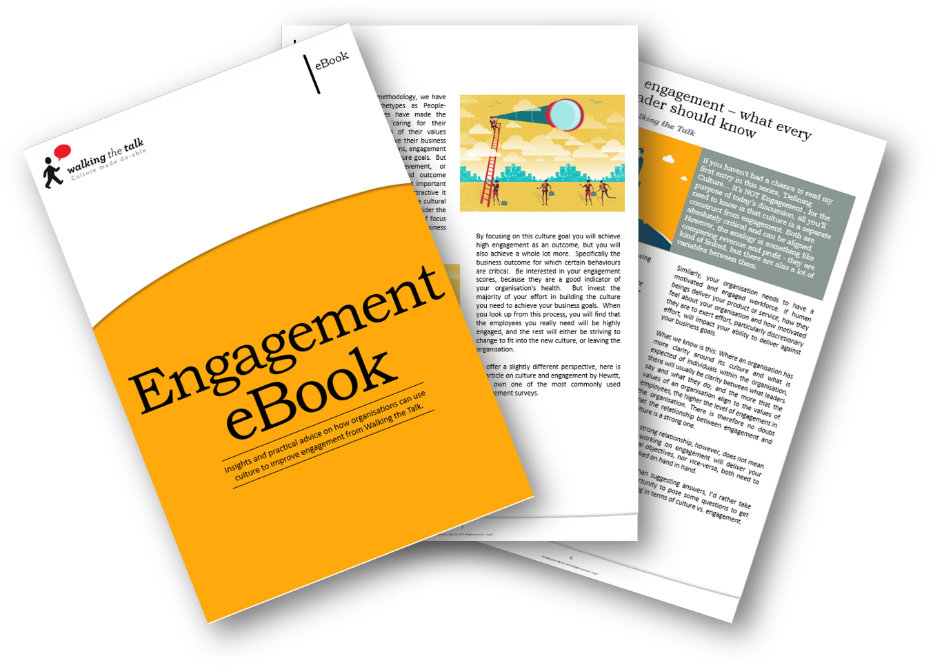 Landing page Engagement eBook