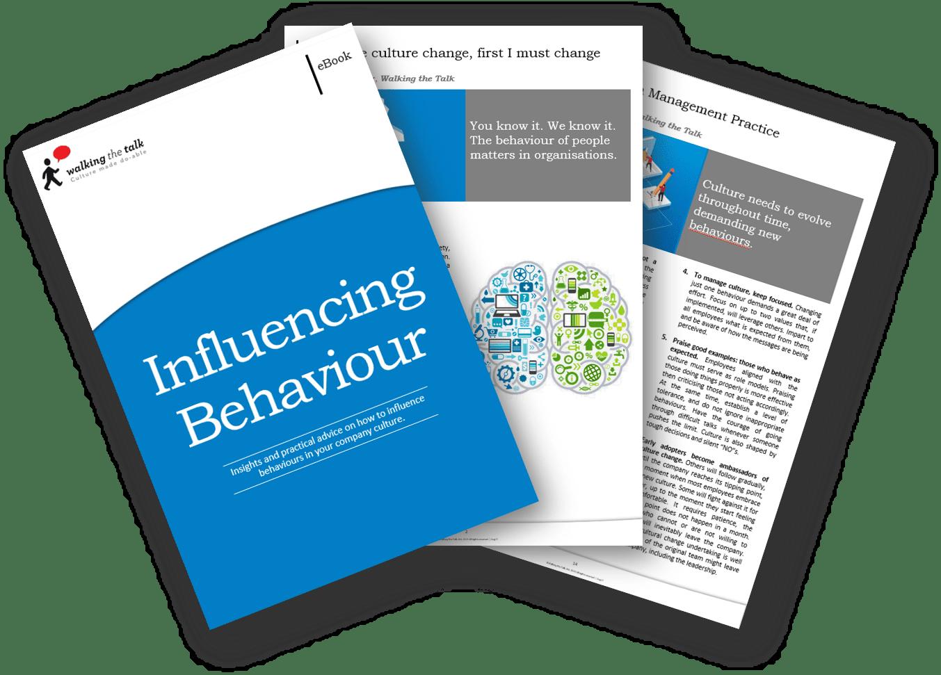 Landing page Influencing Behaviour