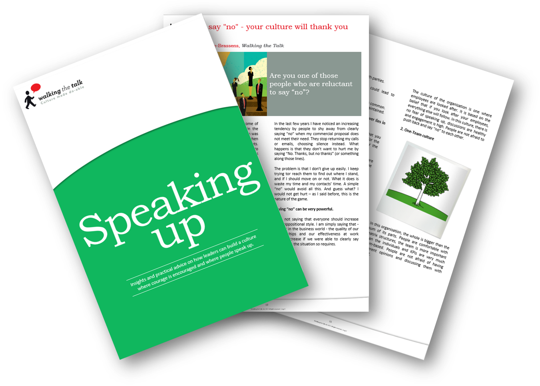 Download Speaking up eBook