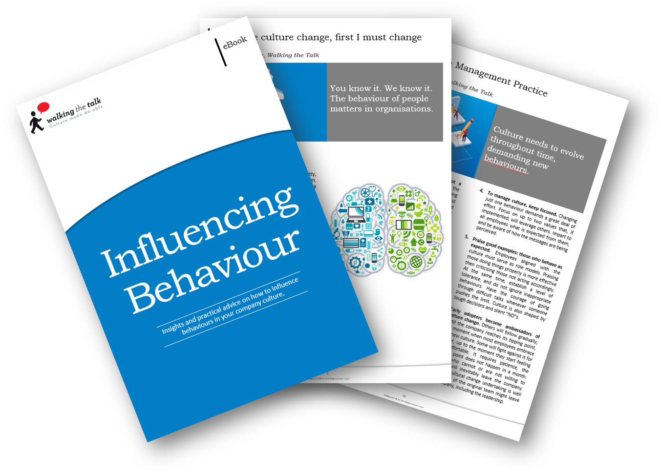 Landing page Influencing Behaviour