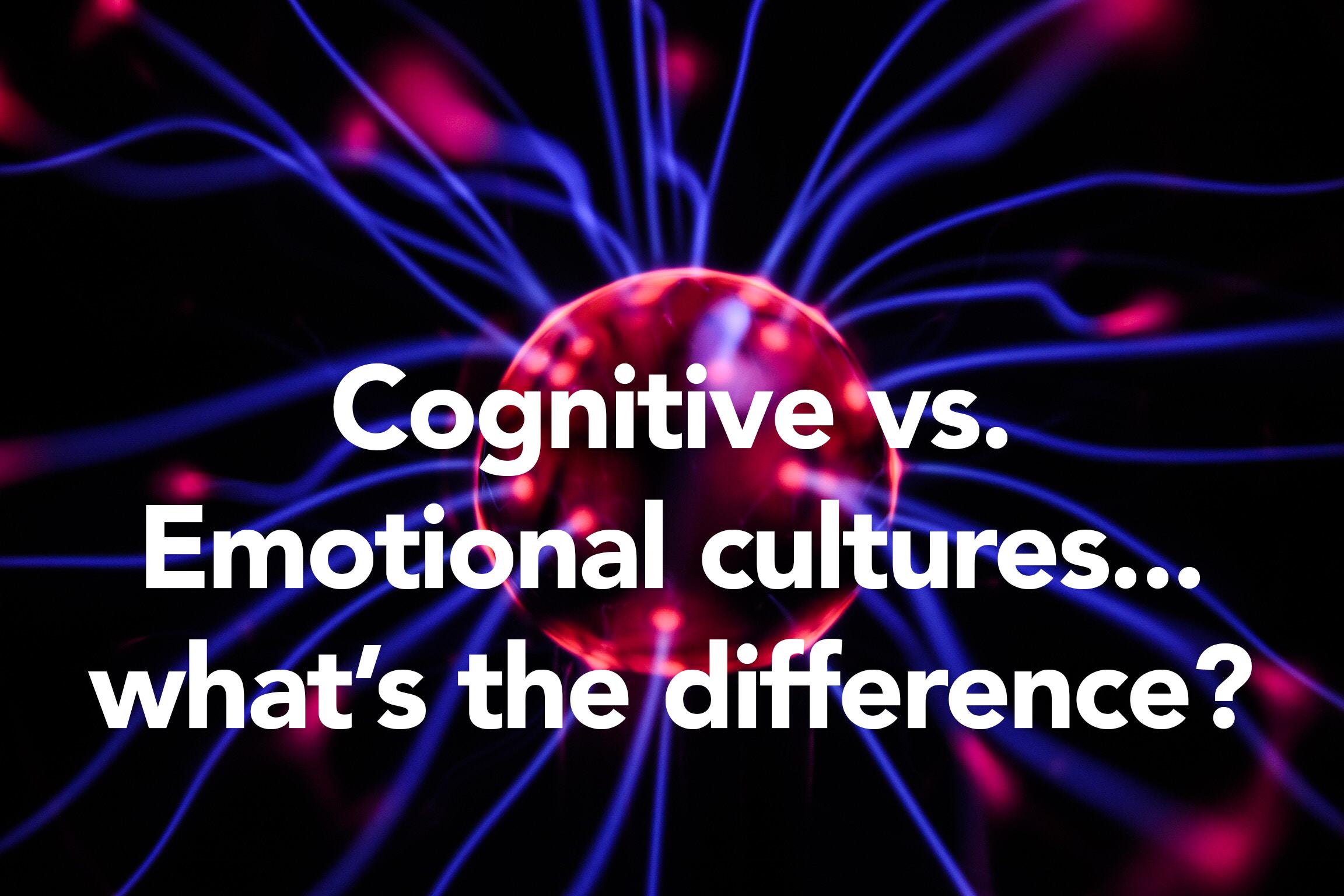 cognitive vs emosh